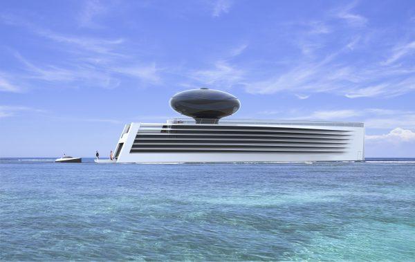 Eau electric super yacht Feadship Oceanco Studio Tjep Philippe Starck